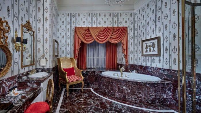 Paris Las Vegas Napoleon Suite