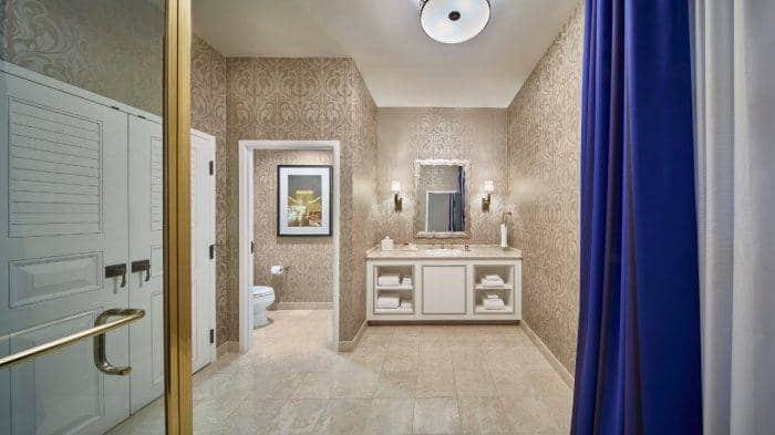 Paris Las Vegas St Tropez Suite Bathroom