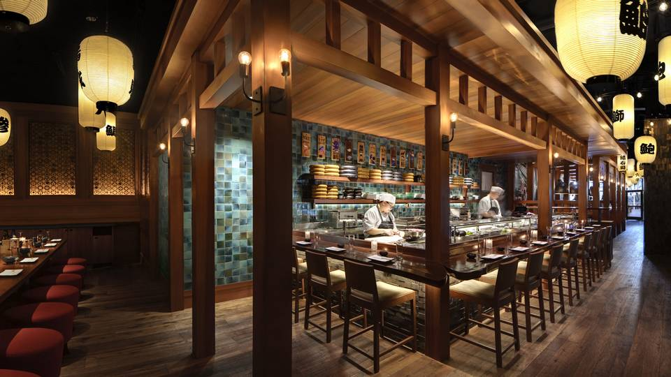 Red Rock Hotel Casino Las Vegas Blue Ribbon Sushi Bar & Grill