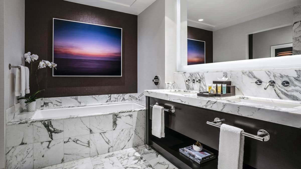 Red Rock Hotel Casino Las Vegas Luxury King Bathroom