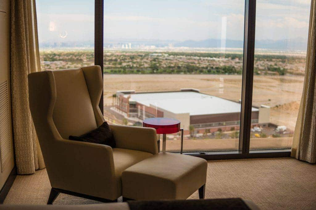Red Rock Hotel Casino Las Vegas Presidential Suite Seating Area