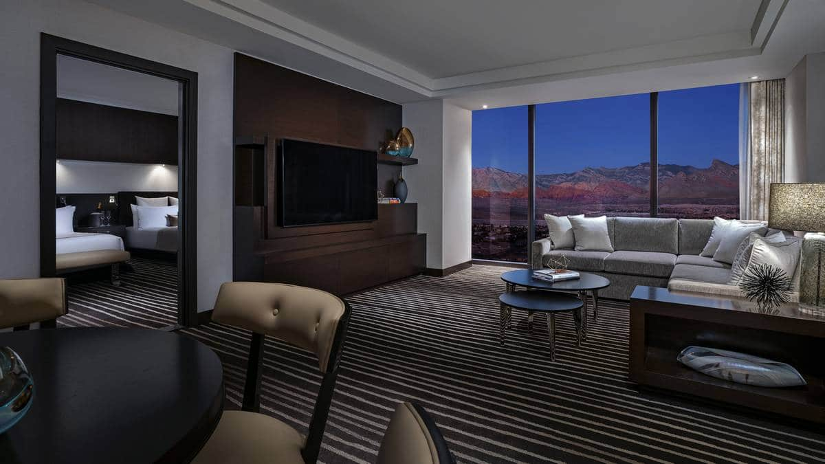 Red Rock Hotel Casino Las Vegas Signature Two Queens Suite