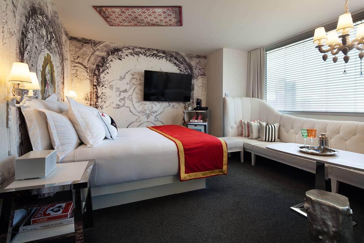 Sahara Las Vegas Alexandria King Room