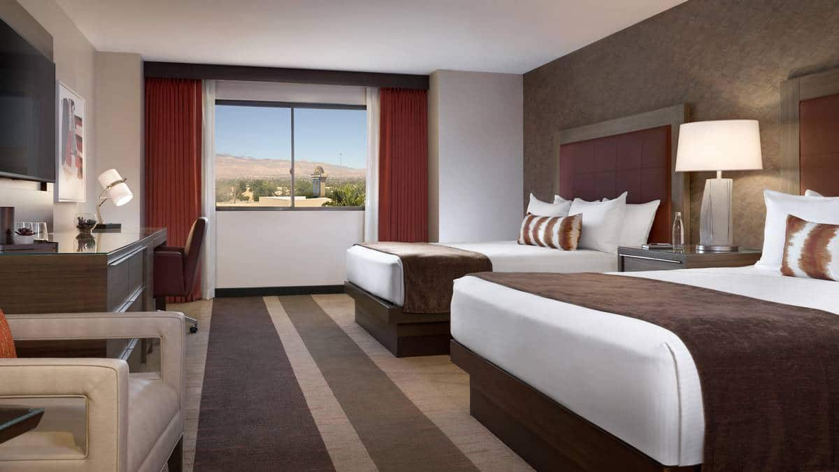 Santa Fe Station Las Vegas Deluxe Double Queens Room