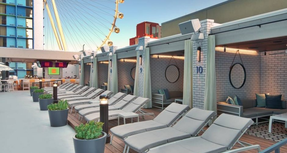 The Linq Las Vegas Pool Cabanas