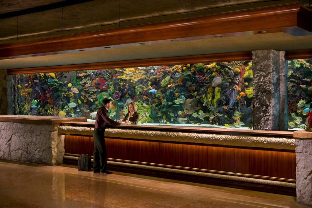 The Mirage Las Vegas Lobby Aquarium