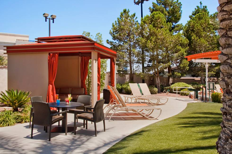 The Orleans Las Vegas Pool Cabana