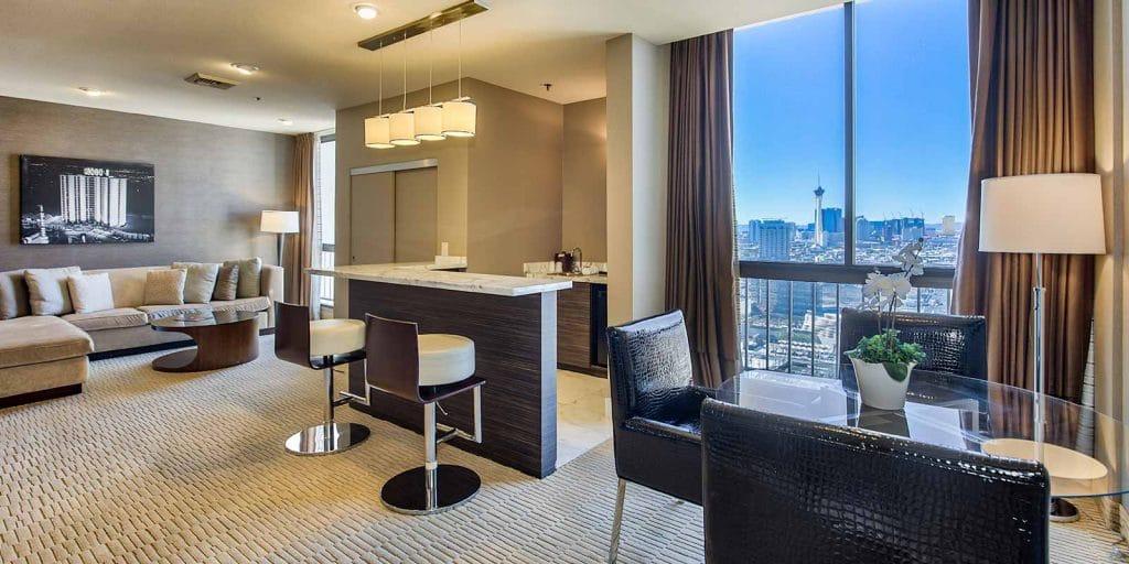 The Plaza Las Vegas Penthouse Suite Living Room