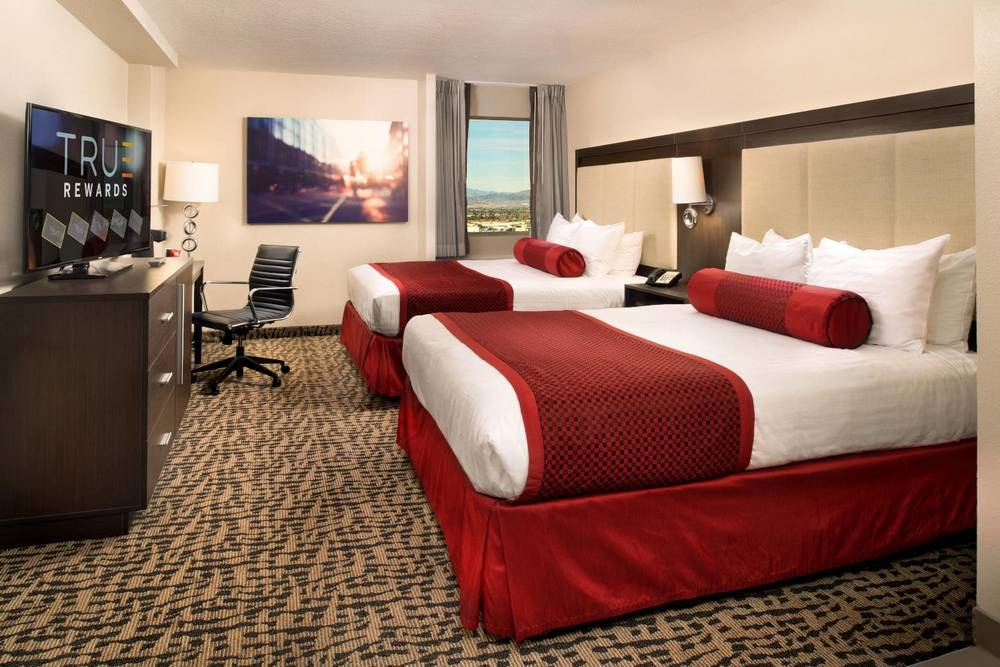 The Strat Las Vegas Elite Queen Room