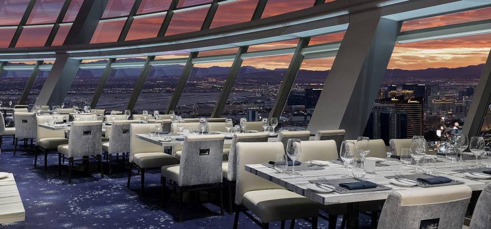 The Strat Las Vegas Top of the World Restaurant