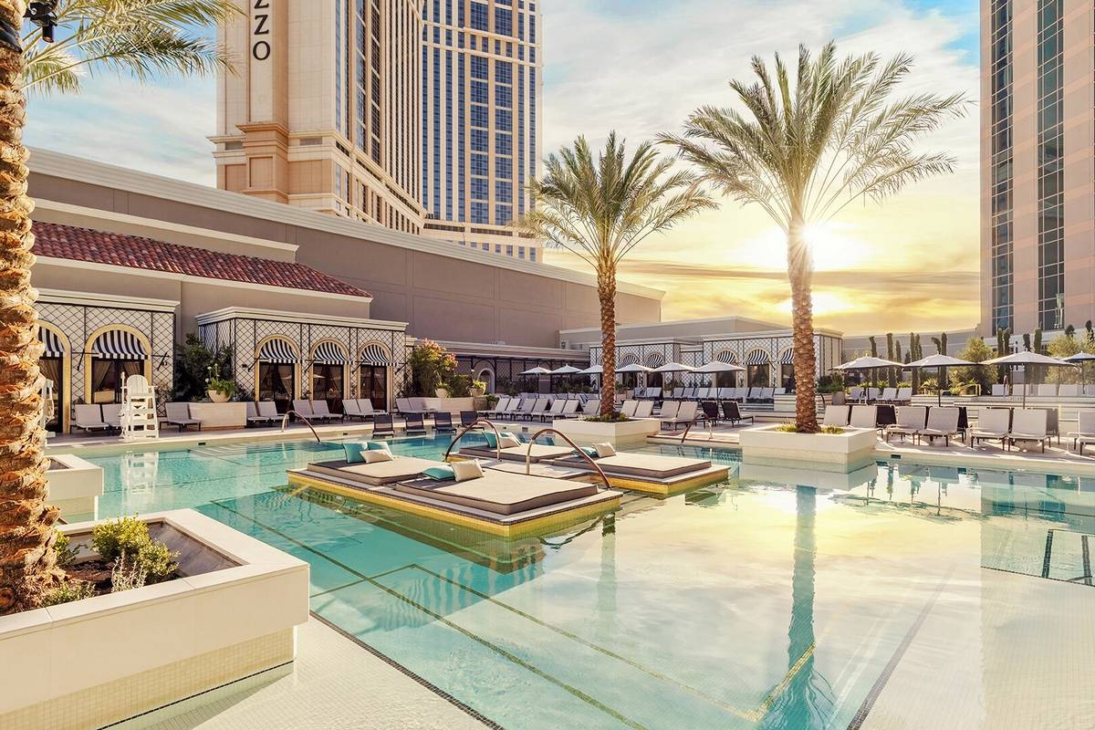The Venetian Las Vegas Pool Deck