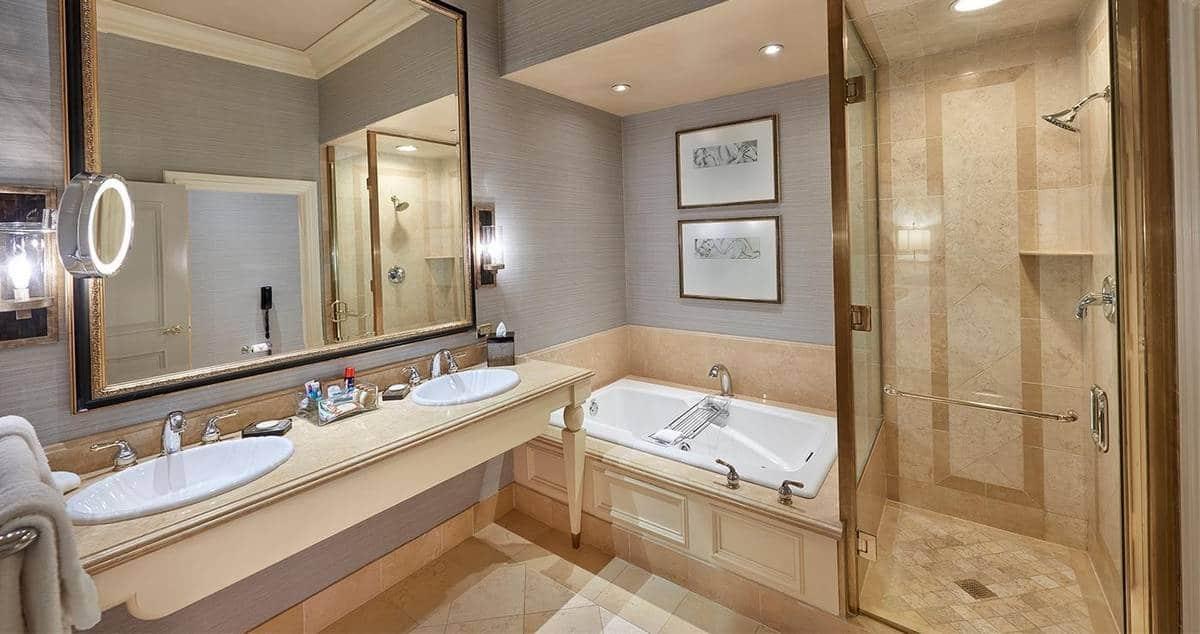 Treasure Island Las Vegas Penthouse Suite Bathroom