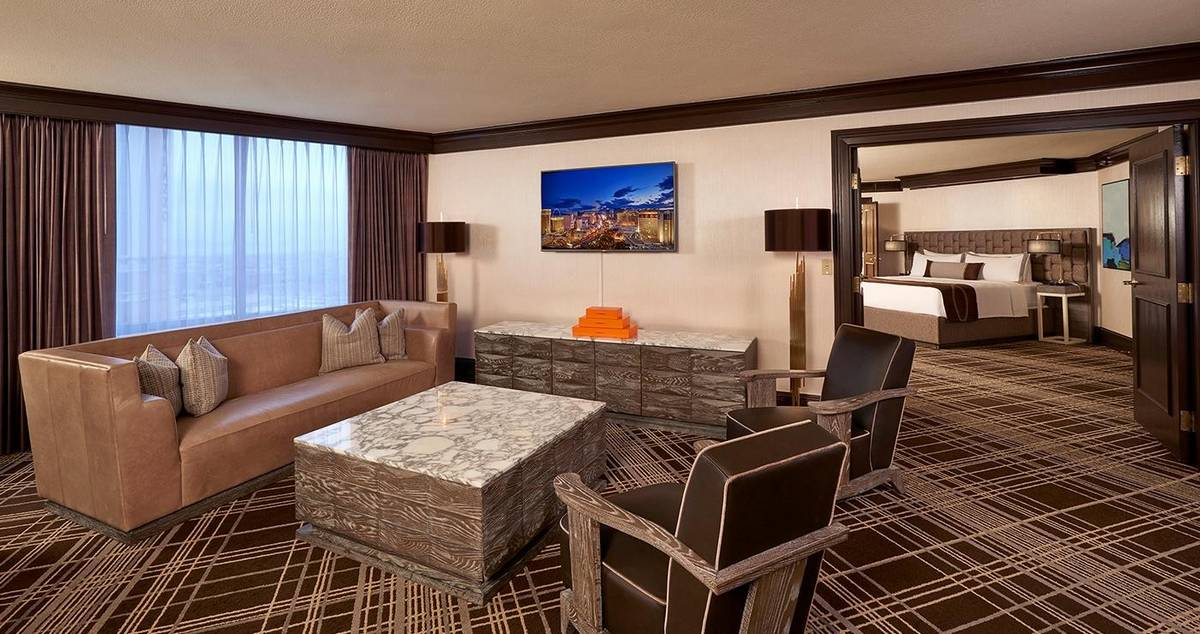 Treasure Island Las Vegas Premier Suite Living Room