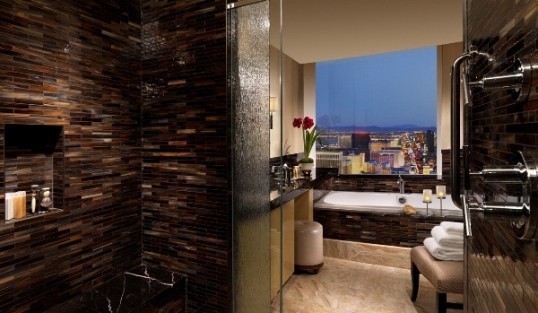 Trump Las Vegas Deluxe Penthouse Bathroom
