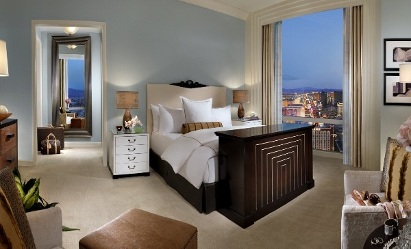 Trump Las Vegas Deluxe Penthouse Bedroom