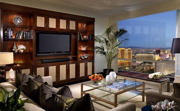 Trump Las Vegas Deluxe Penthouse Living Room
