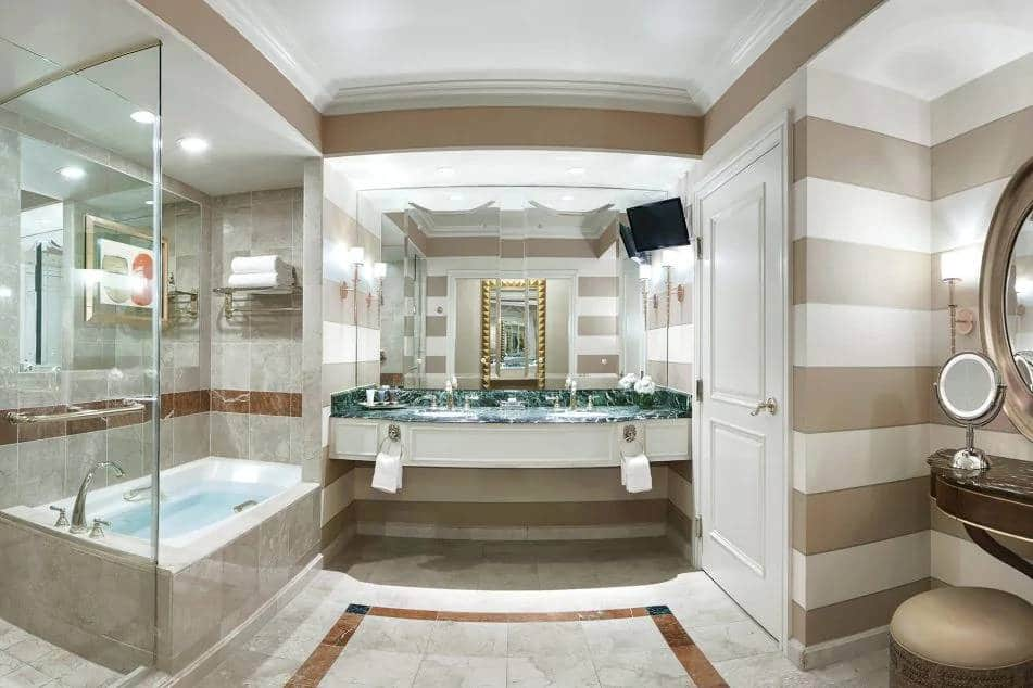 Venetian Las Vegas Premium Two Queen Suite Bathroom