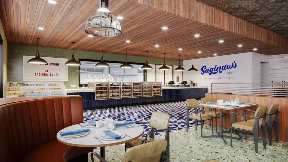 Circa Las Vegas Saginaw's Delicatessen