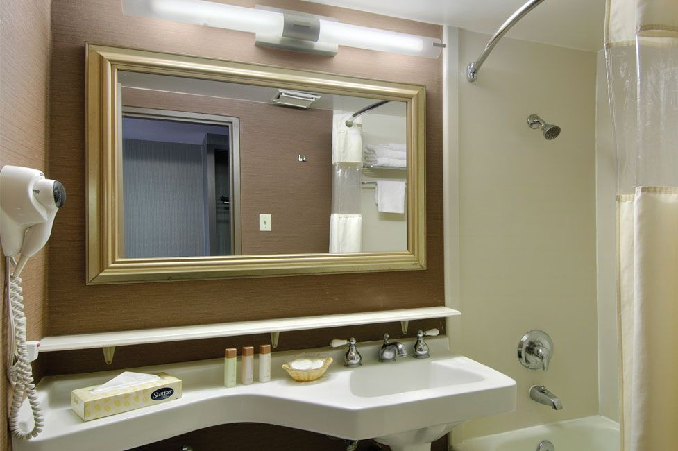 Fremont Las Vegas Deluxe King Room Bathroom