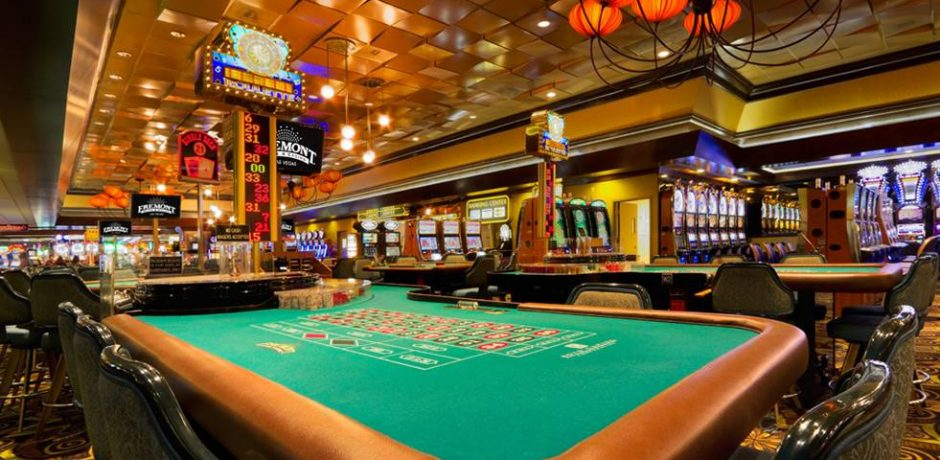 Fremont Las Vegas Hotel Casino Table Games