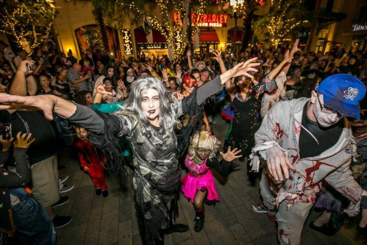 Linq Promenade Las Vegas Halloween Celebration