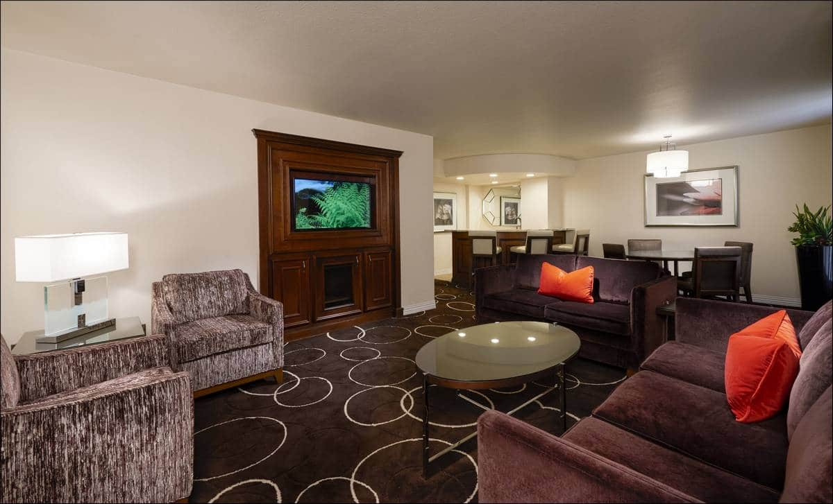 Sunset Station Las Vegas King Suite Living Room