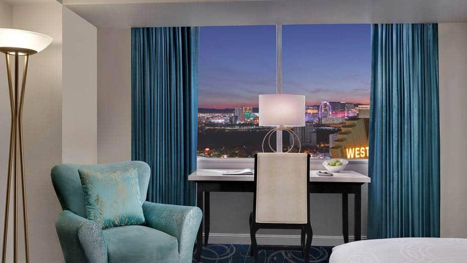 Westgate Las Vegas Luxe Room Desk