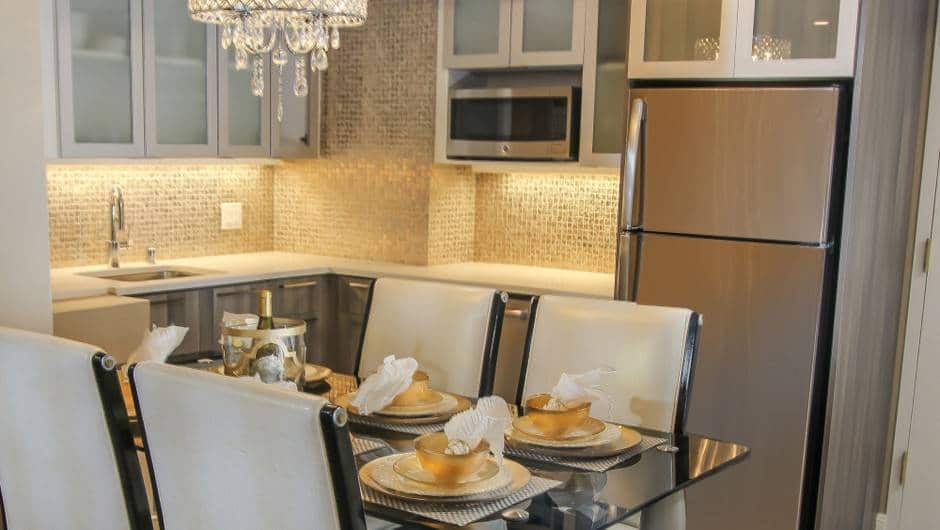 Westgate Las Vegas One-Bedroom Villa Kitchen