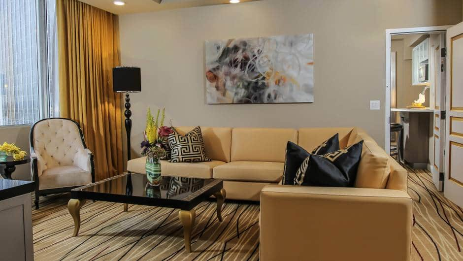 Westgate Las Vegas One-Bedroom Villa Living Room
