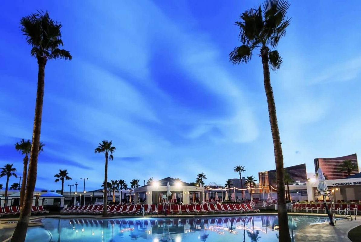 Westgate Las Vegas Pool by Night