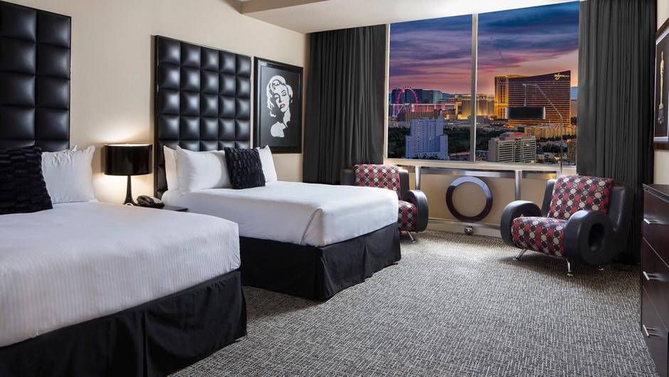 Westgate Las Vegas Signature Room Two Queens