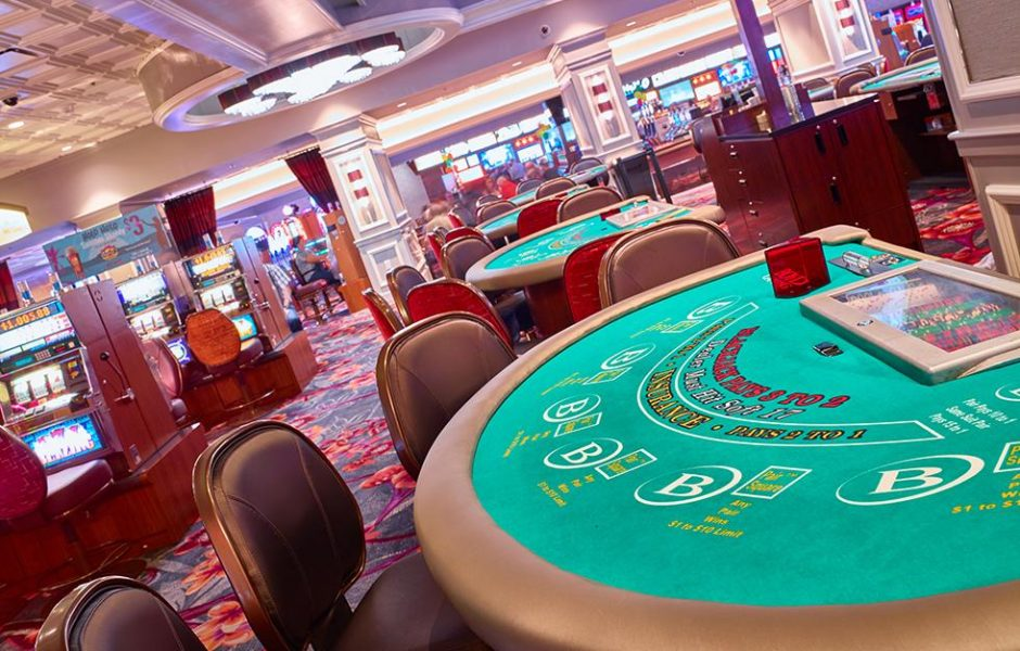 California Las Vegas Gaming Tables