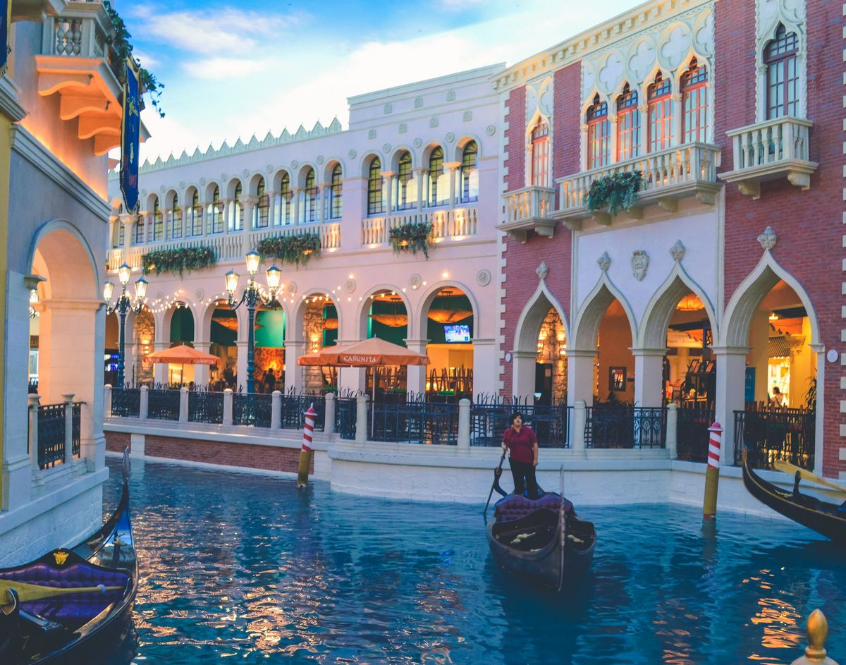 The Canal Shoppes Venetian Las Vegas