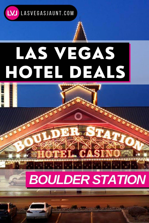 Boulder Station Hotel Las Vegas Deals Promo Codes & Discounts