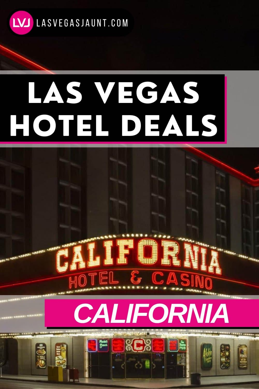 California Hotel Las Vegas Deals Promo Codes & Discounts