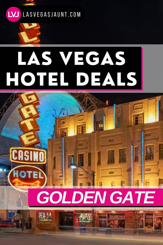 Golden Gate Hotel Las Vegas Deals Promo Codes & Discounts