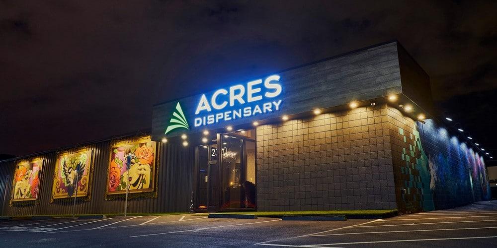 Acres Dispensary Cannabis Museum Las Vegas