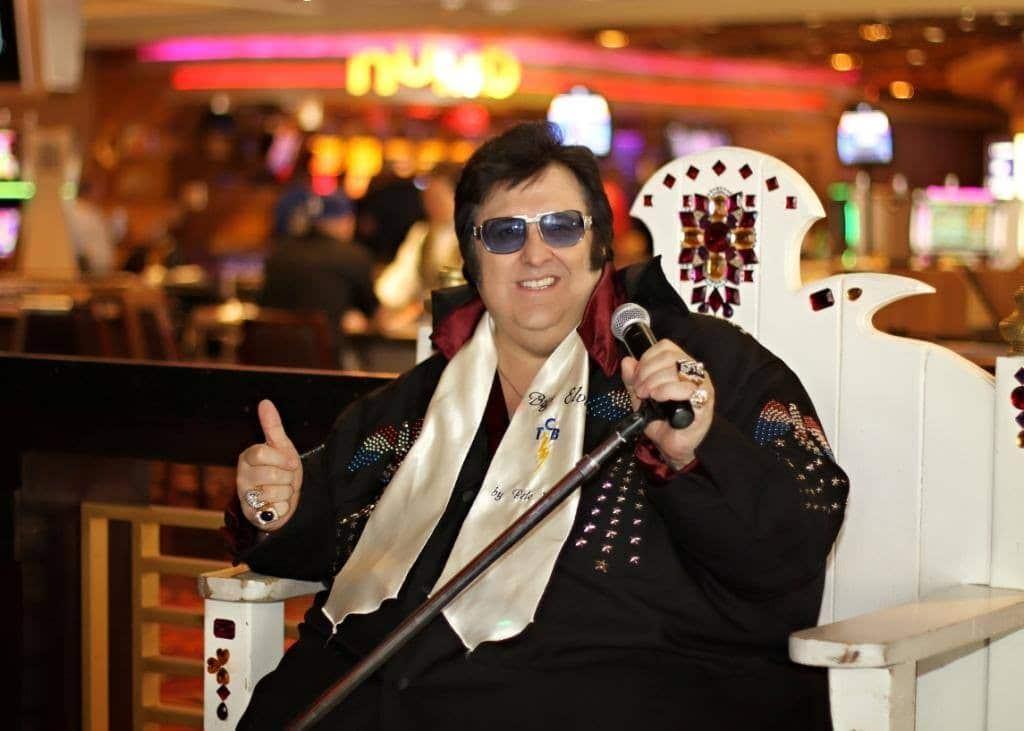 Big Elvis Show at Harrah's Piano Bar