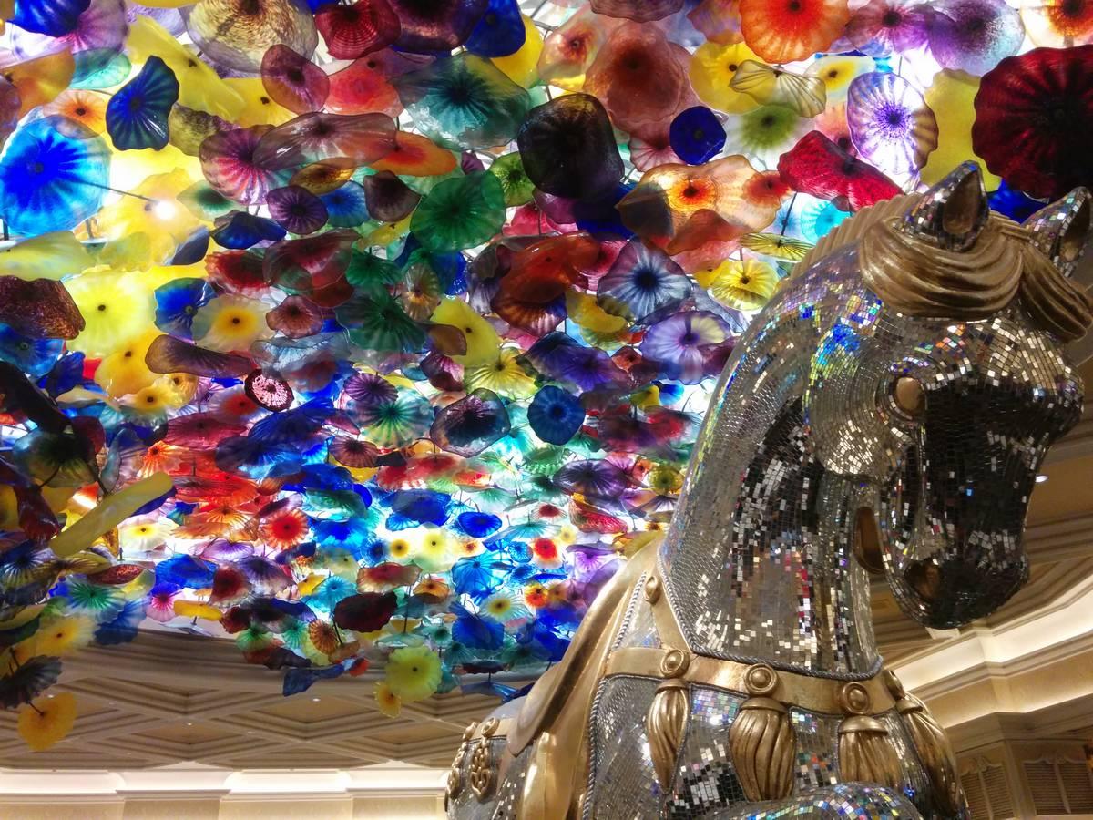 Fiori di Como by Dale Chihuly at Bellagio Lobby