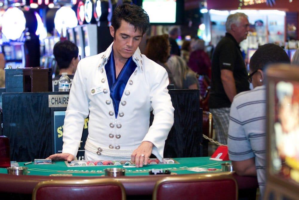 Gary Benson Elvis Impersonator Ellis Island Las Vegas