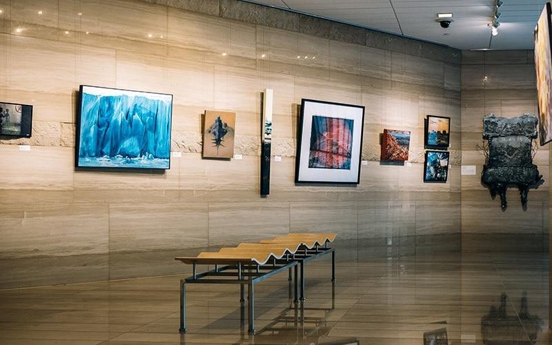 Las Vegas City Hall Art Galleries