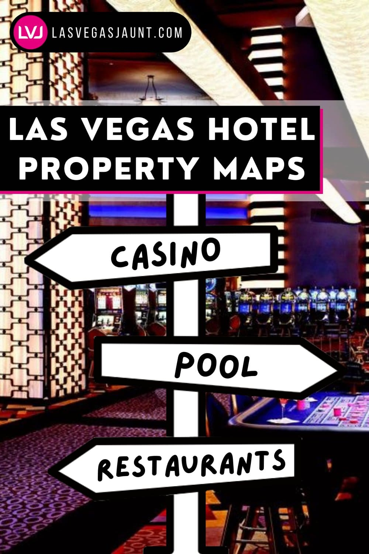 Las Vegas Hotel Casino Property Maps