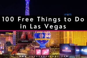 100 Free Things to Do in Las Vegas