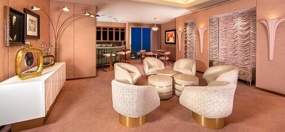 EL Cortez Las Vegas Jackie Gaughan Suite
