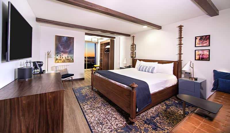 EL Cortez Las Vegas Tower Room