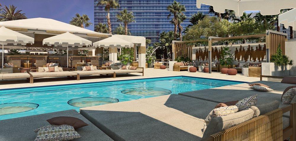 Virgin Hotels Las Vegas Desert Oasis Pool