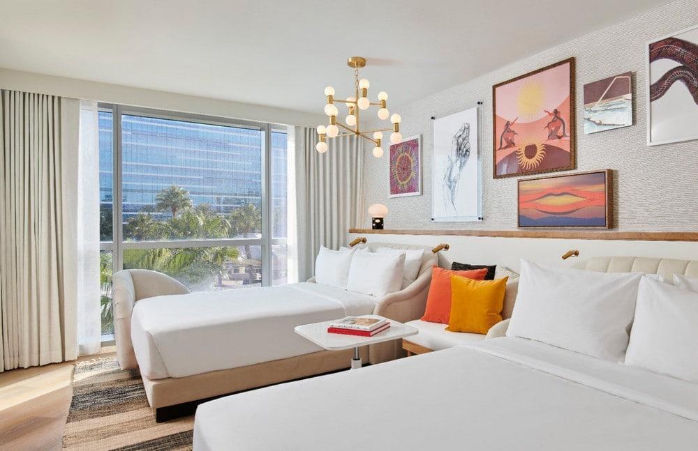 Virgin Hotels Las Vegas Opal Chamber Double Queen Room
