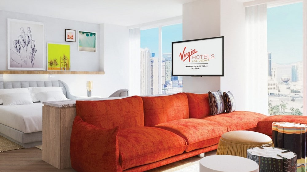 Virgin Hotels Las Vegas Ruby Petite Chamber King Room