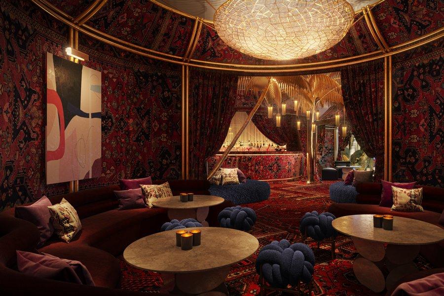 Virgin Hotels Las Vegas The Shag Room