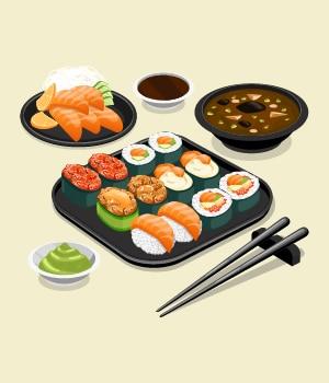 22.Feast on high-end Japanese cuisine